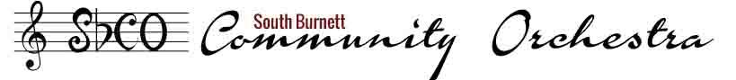 South Burnett Community Orchestra logo banner