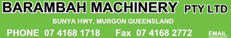 Barambah Machinery